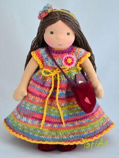 Natural dolls and toys. Waldorf Dolls, Harajuku, Natural, Fashion, Tela, Moda, Fashion Styles, Fashion Illustrations, Nature