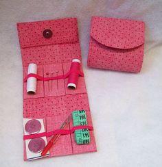 Kit costura de bolsa + porta moedas