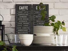 Cozinhas vestidas a rigor. #molduras #quadros #decoração #IKEAPortugal