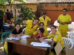 Asado verkauft der Freiwilligen Feuerwehr in Villarrica...