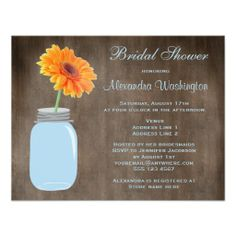 >>>Low Price          	Mason Jar & Gerbera Daisy Rustic Bridal Shower Personalized Announcements           	Mason Jar & Gerbera Daisy Rustic Bridal Shower Personalized Announcements in each seller & make purchase online for cheap. Choose the best price and best promotion as you thing Sec...Cleck Hot Deals >>> http://www.zazzle.com/mason_jar_gerbera_daisy_rustic_bridal_shower_invitation-161831025015811076?rf=238627982471231924&zbar=1&tc=terrest