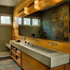 Trough Sink Design, Pictures, Remodel, Decor and Ideas - page 7