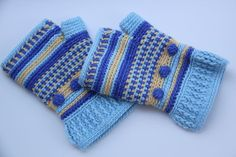 Boho Fingerless Gloves | Craftsy $3.50