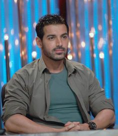 John Abraham promoting his film on India's biggest dance show Jhalak Dikhla Jaa. #Bollywood #Fashion