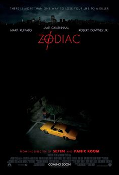 Zodiac.  2007.  I never saw this one but it's a great poster.  Very spooky if you know the scene from the story.