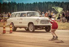 Vintage Drags Räyskälä Finland -16 Drag Racing, Finland, Vintage, Vintage Comics, Primitive