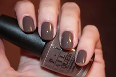 OPI ~ You Don't Know Jacques - best grayish brownish polish.