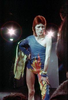 David Bowie becomes icon Ziggy Stardust: From space oddity to glam rock hero Joan Baez, Joan Jett, Johnny Rotten, Anthony Kiedis, Keith Richards, Jim Morrison, Fleetwood Mac, Stevie Nicks, Glam Rock
