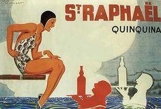 Raphael, Art Poster by Rene Vincent Poster Art, Art Deco Posters, Cool Posters, Travel Posters, Vintage Posters, Vintage Art, Poster Prints, Railway Posters, St Remy