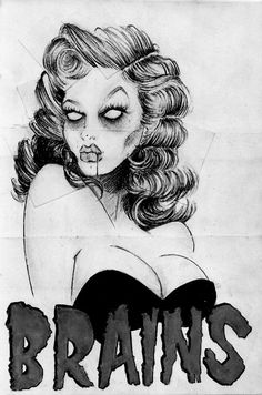 Hot zombie girl...