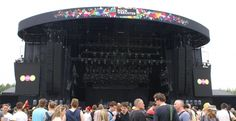 "Festivalpark Werchter - StageCo Staging Group   ""The beginning"""