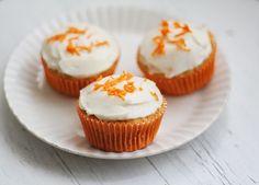 Porkkanacupcakes - Lunni leipoo