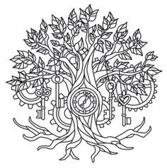 Tree Of Life Pages For Adults