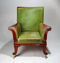 comfy old english chair.
