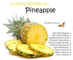 9 Powerful Health Benefits Of Pineapple And Nutrition Facts Pineapple Health Benefits, Fruit Benefits, Health And Nutrition, Health Tips, Health And Wellness, Banana Nutrition, Fruit Nutrition, Nutrition Tracker, Nutrition Guide