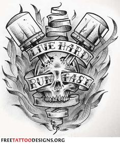 Piston tattoo
