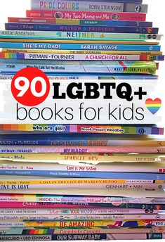 The Ultimate Pride Book List for Kids - No Time For Flash Cards