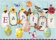 Shawn D Jenkins. Easter Art, Easter Bunny, Easter Printables, Free Printables, Easter Parade, Easter Celebration, Vintage Easter, Happy Easter, Altered Art