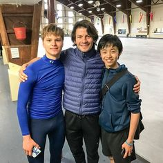 A few weeks of training and treatment in Toronto for Deniss and Koshiro before returning to Champéry for #Camp3S!
