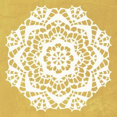 Lace Doily Pattern Wall Stencils for Painting Wall Art - Royal Design Studio Lace Stencil, Stencil Patterns, Stencil Diy, Doily Patterns, Stencil Designs, Craft Stencils, Stenciling, Royal Design, Lace Design