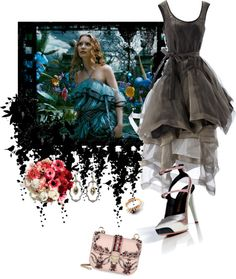 """""""Alice in Wonderland"""" by shonagon ❤ liked on Polyvore"""