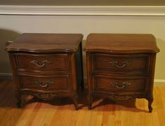 French Nightstands Makeover