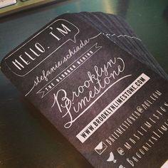 brooklyn limestone's business cards