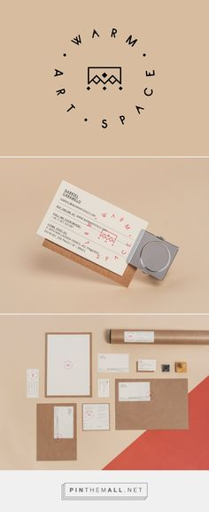 Warm on Behance - branding - logo