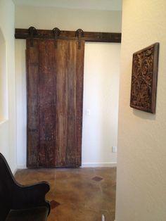 Authentic Wood Interior Barn Doors | Sliding Barn Doors