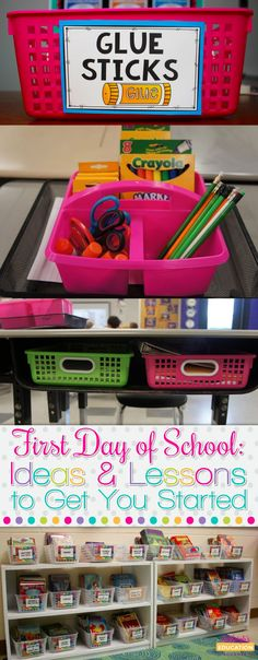 First Day of School: Ideas and Lessons to Get You Started