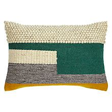 Buy Design Project by John Lewis No.102 Evergreen / Mimosa Cushion Online at johnlewis.com