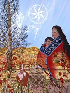 http://www.indigenousenvirosummit10.com/Cherokee_art_by_Bill_Rabbit.jpg