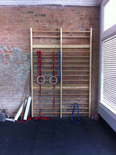 Home Gym: stall bars.