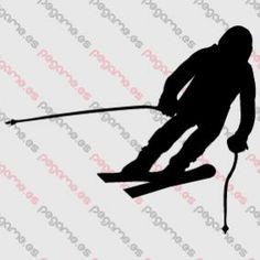Pegame.es Online Decals Shop  #snow #ski #winter #ski #vinyl #sticker #pegatina #vinilo #stencil #decal
