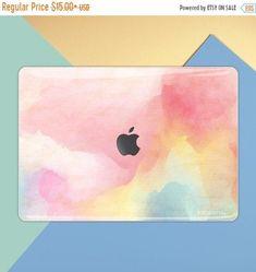 Watercolor macbook skin pink paint macbook decal macbook | Etsy Macbook Air Decals, Macbook Pro Stickers, Keyboard Stickers, Apple Laptop Macbook, Macbook Pro Skin, Macbook Air 11 Inch, Pink, Farmhouse, Painting
