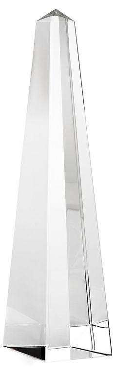 """13"""" Crystal Obelisk $75"""