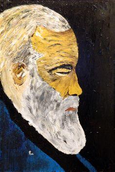 "Saatchi Online Artist Paul Costin; Painting, ""Uncle John"" #art"