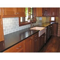 pictures of mosaic backsplash in kitchen honey oak cabinets what color granite not so sure gray 9128