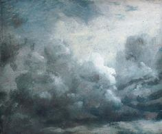 John Constable, Cloud study, 6th September 1822