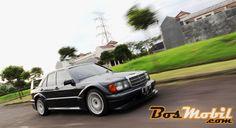 Replika Mercedes-Benz 190E (W201) Evolution II Mantan Race Car - BosMobil.com