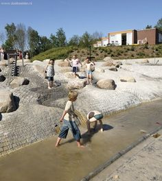Water playground Stadskanaal, Netherlands