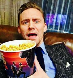 Wanna have it ..not popcorn ..d man