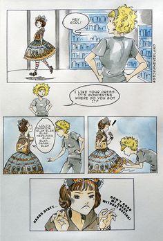 Lolita Lifestyle - PanKeiko - image  Признаюсь иногда хочется также подробно рассмотреть принт.