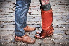 tights + socks + boots = pretty perfect combo