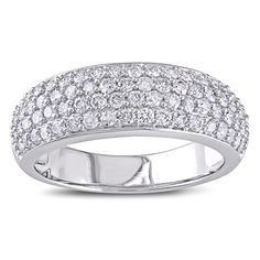 this one is better @Yvonne Todd Ofreneo Miadora 10k White Gold 1ct TDW Pave Diamond Ring