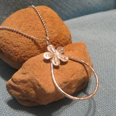 Think Summer with this Long Silver Posy Flower Charm Holder Necklace by JJDLJewelryArt $145.00 http://www.etsy.com/listing/170307948