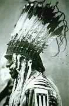 BLACK FOOT INDIAN!