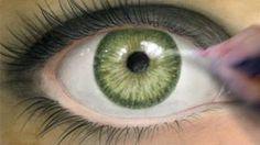 Coloring Tutorial: Realistic Eye, via YouTube.