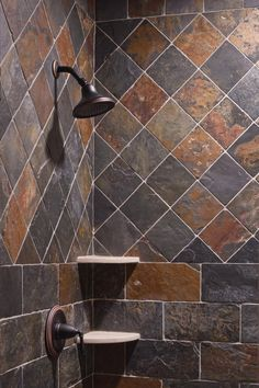 1000 images about slate tile showers on slate 14466