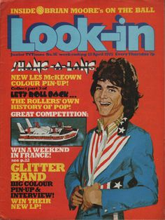 Look-In Magazine No.16 12 April 1975 The Glitter Band The Bay City Rollers   eBay